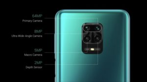 Xiomi Redmi Note 9S camera